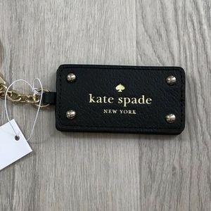 Kate Spade Grove Street Mirror Black Keychain